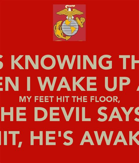 The Says by It S Knowing That When I Up And My Hit The Floor