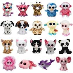 ty beanie boo soft big eyes plush cat teddy soft toy designs bear sheep gift ebay