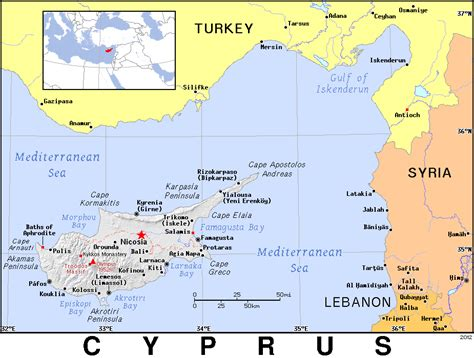 where is cyprus on the world map cyprus map world