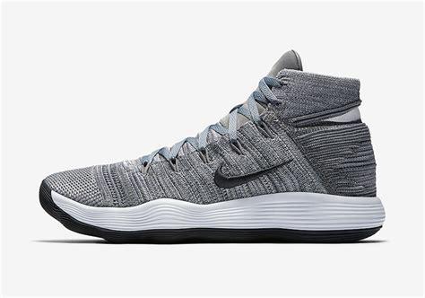 Nike React Hyperdunk 2017 nike react hyperdunk 2017 flyknit cool grey sneaker bar detroit