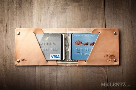 Handmade Groomsmen Gifts - personalized wallet personalized groomsmen wallets