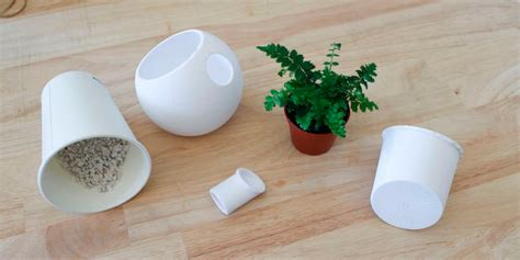 self water planter avoid killing houseplants with this sleekly designed and