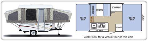 tent trailer floor plans classic adventures rv rentals and sales trailer
