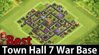 What is a good design for clash of clan s base town hall 7 quora