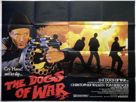 The Dogs Of War the dogs of war poster uk 1980