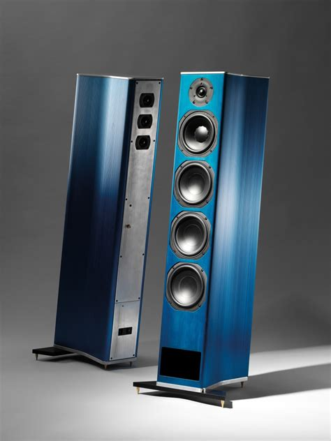 Cabinet Hecke by Test Lautsprecher Stereo Newtronics Zero One Sehr Gut