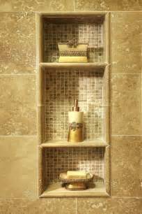 built in shelves in shower bathroom ideas