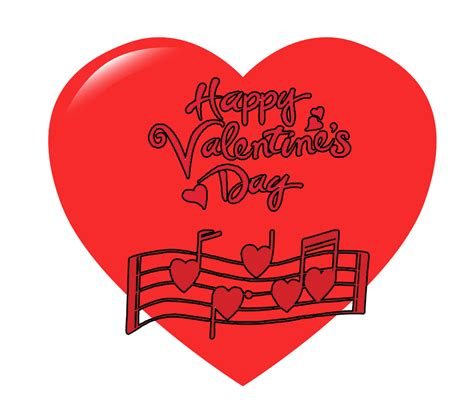 valentines songs musical instrument happy s day