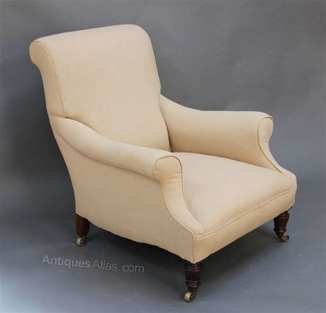 Howard Armchair by 19thc Howard Style Armchair Antiques Atlas