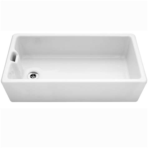 kitchen sink single bowl caple belfast 915 ceramic single bowl sink kitchen