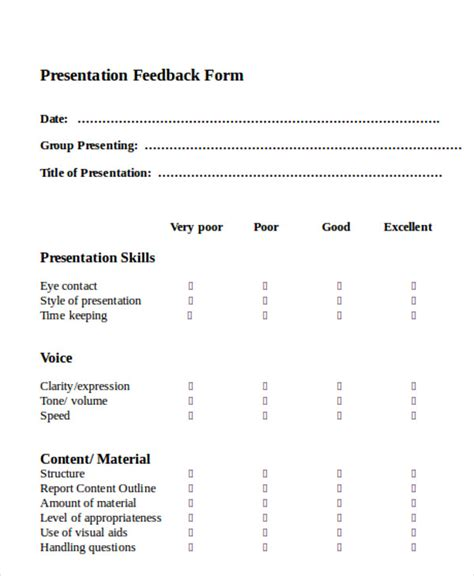 feedback forms in word 11 sle feedback forms in word sle templates