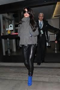 cheryl cole  black leather pants  gotceleb