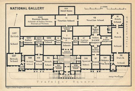 national gallery floor plan 1930 national gallery london antique floor plan