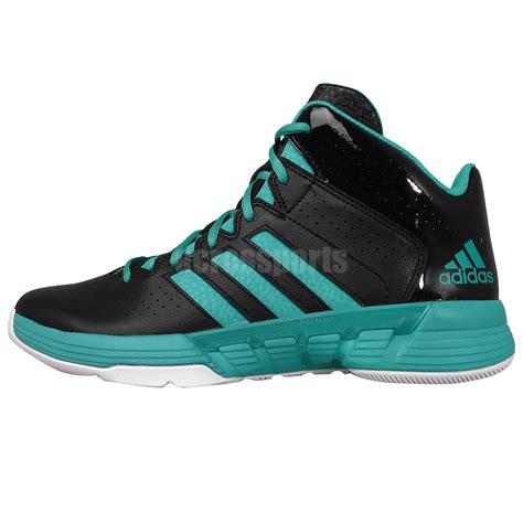 adidas performance basketball shoes adidas performance cross em 3 black green mens basketball
