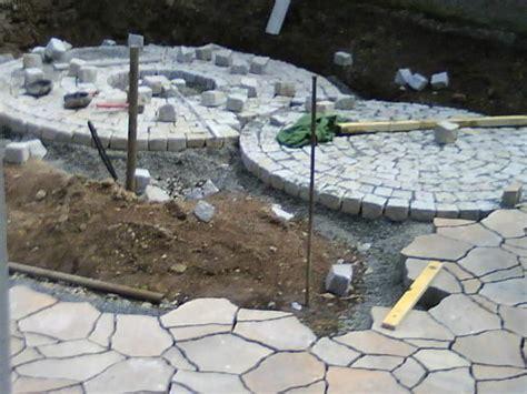 pflasterkreis baumarkt sitzkreis aus granitpflastersteinen mein sch 246 ner garten