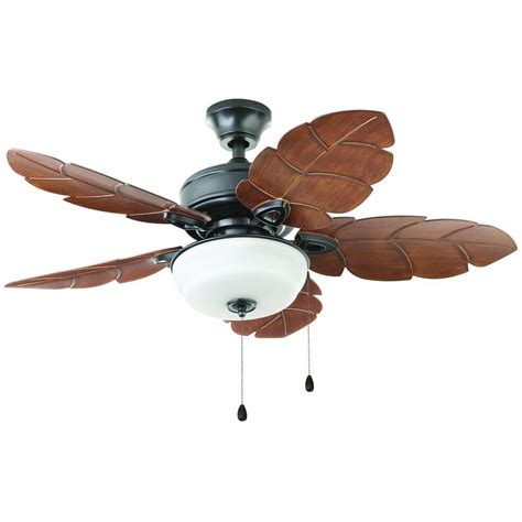 harbor ceiling fan home depot home decorators collection palm cove 44 in outdoor