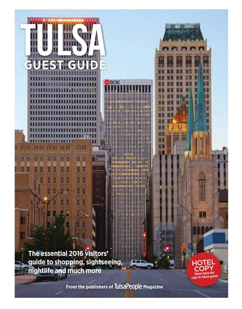 tulsa guest guide by langdon publishing co issuu