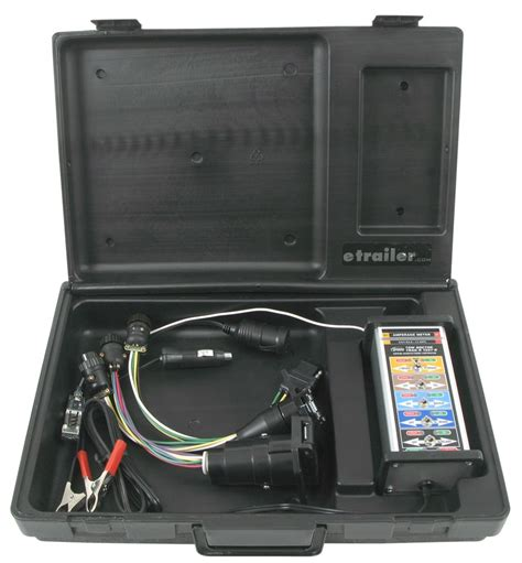 testing trailer wiring tow doctor trailer end test unit wiring hm50928