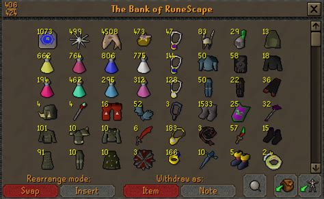 runescape house layout best pking bank setup 2007scape