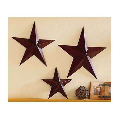 country star decorations home 40 best rustic star home decor images on pinterest