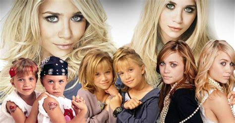olsen twins through the years mary kate ashley olsen