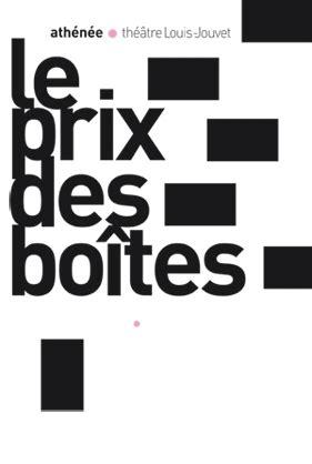 THEATRE : Le prix des boîtes, de Frédéric Pommier - Marc