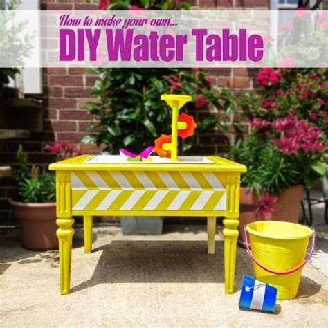 Outdoor Water Table by Cool And Colorful Diy Outdoor Water Table For Kidsomania