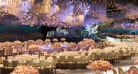 most beautiful wedding receptions magical wedding reception bajkowy ślub fairytale weddings