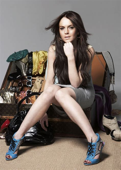 Lace Pumps A La Lindsay Lohan by Lindsay Lohan High Heels And
