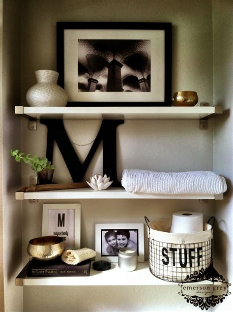 decorate bathroom shelves 20 cool bathroom decor ideas that you are going to