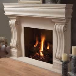Architecture Beautiful Stone Fireplace In Modern