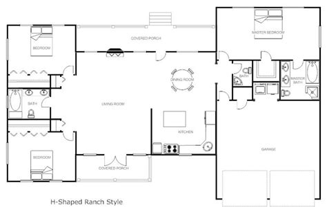 house plans rectangular shape 32x50 rectangle ranch house plans shaped ranch house plans house plans house