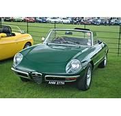Classic Alfa Romeo Spider Cars