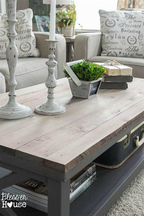 barn wood top coffee table diy table tops and house