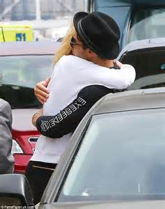 Jo In Shoes Intl joe jonas and gigi hadid embrace at lax drop after