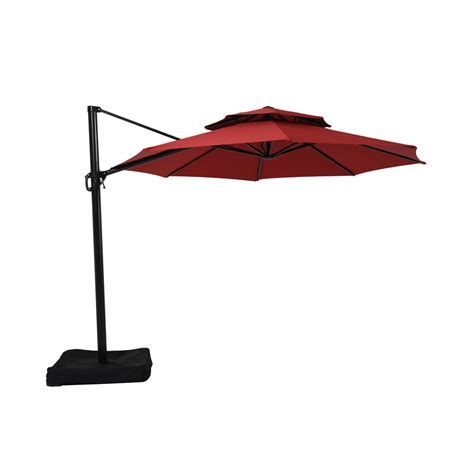 garden treasures offset umbrella