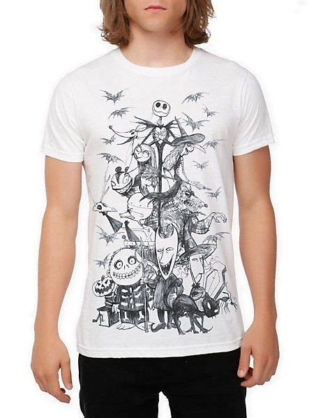 the nightmare before merch the nightmare before sketch t shirt disney