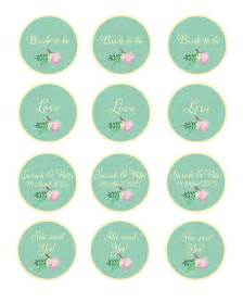 items similar to printable rustic cupcake toppers favor