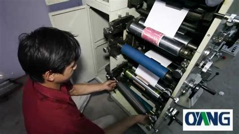 Paper Roll Machine - automatically paper roll to roll printing machine