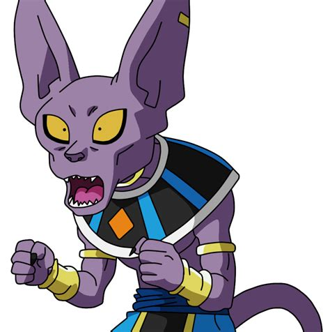 dragon ball z beerus wallpaper dragonball bills beerus v2 lineart farbig by
