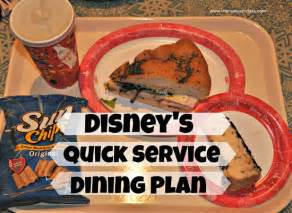 Disney Dining Plan Table Service Magic Your Way Service Dining Plan Walt Disney World