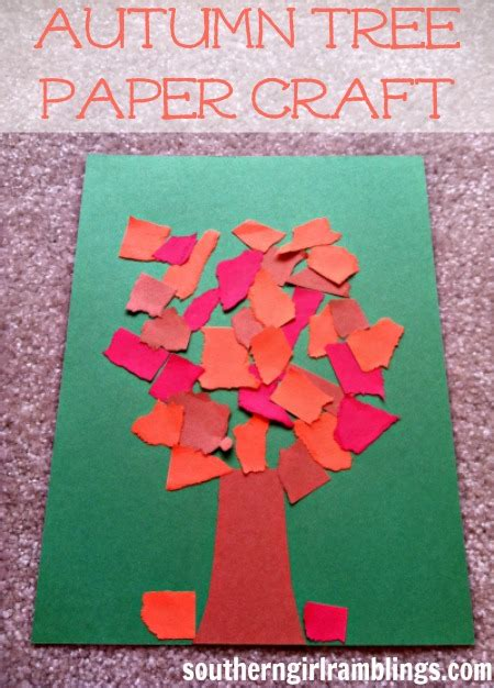 Fall Paper Crafts For - 20 fall crafts for