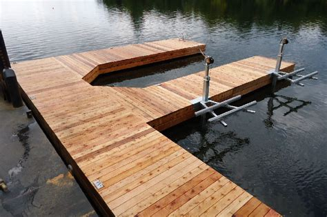 How To Build A Wooden Dock Crib by Permanent Steel Pile Docks Taylordocks