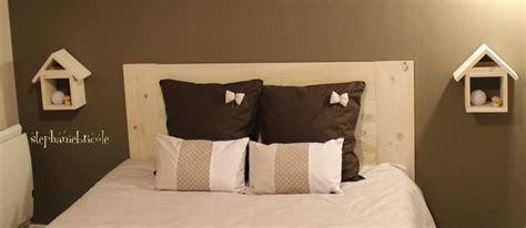Une tête de lit en bois très facile à faire   Stéphanie