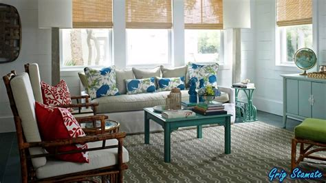 Colorful Beach Cottage Remodel From Hgtv Magazine Beach » Home Design 2017