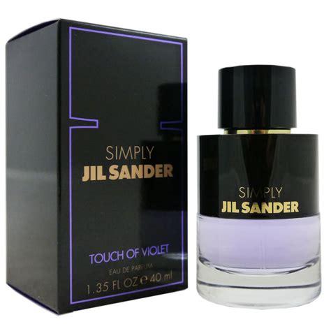 Parfum Elizabeth Touch Of Violet jil sander simply touch of violet 40 ml eau de parfum edp