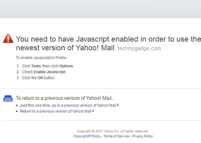 yahoo email just disappeared how to switch back to yahoo mail classic technogadge