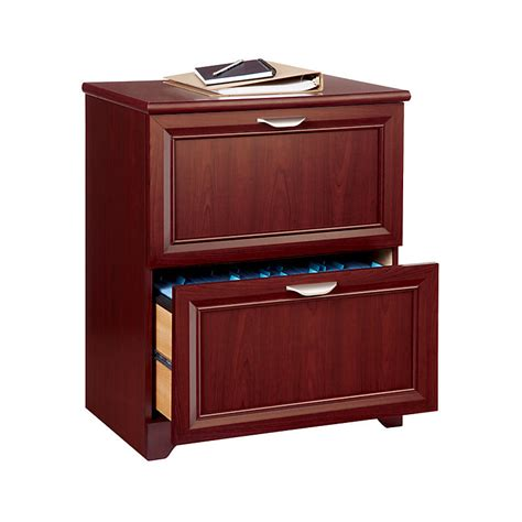 Realspace Magellan Collection 2 Drawer Lateral File Cherry Lateral File Cabinet 2 Drawer