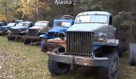 Alaska Car Dump Yard junk yards barn finds and rat rods autos post