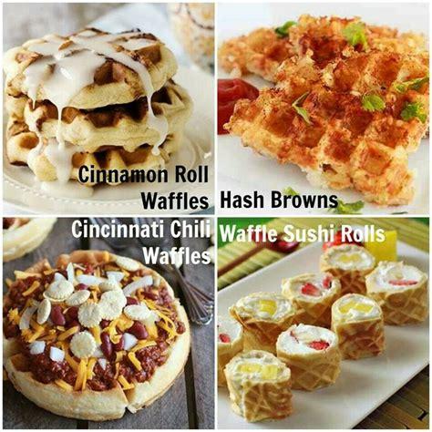 waffle iron recipes yummyyy pinterest